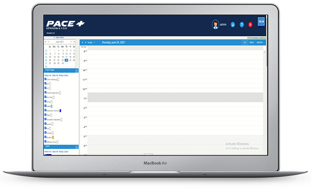 PacePlus Scheduling